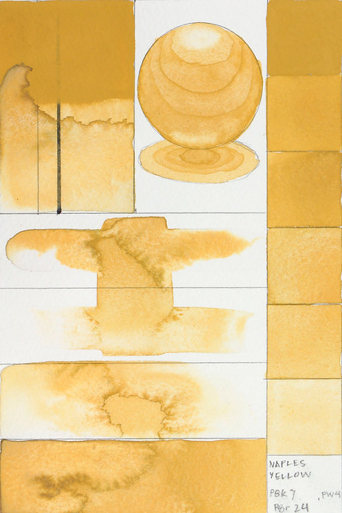 Golden QOR Watercolour - Naples Yellow