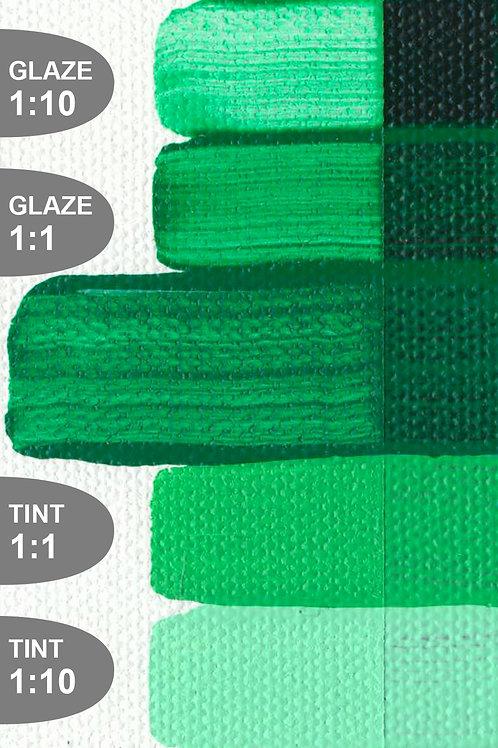 Golden Open Colour Acrylics - Series 4 - Permanent Green Light