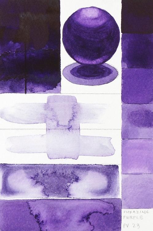Golden QOR Watercolour - Dioxazine Purple