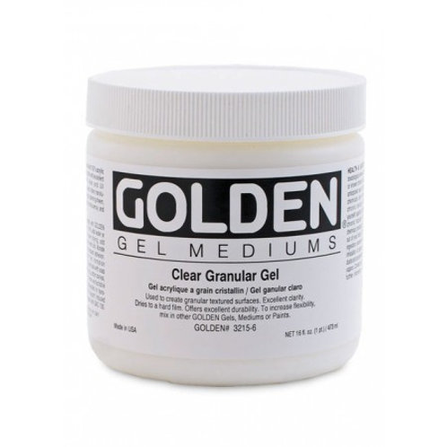 Golden Acrylics Clear Granular Gel