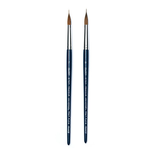 Isabey Series 6201 - Pure Sable Travel Brush