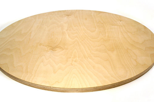 24mm Circle Birch Plywood Panel