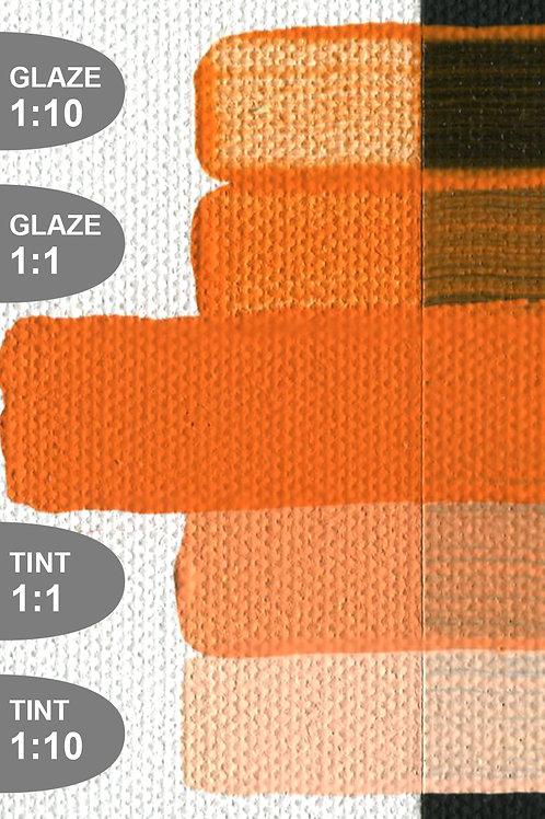 Golden Open Colour Acrylics - Series 8 - C.P. Cadmium Orange