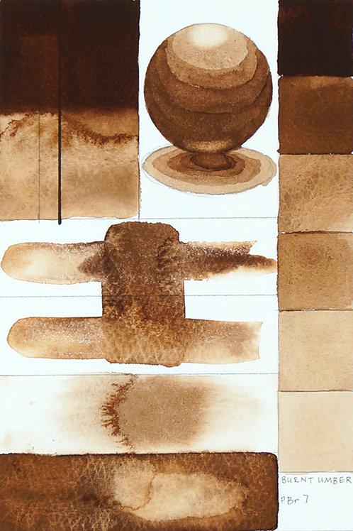 Golden QOR Watercolour - Burnt Umber