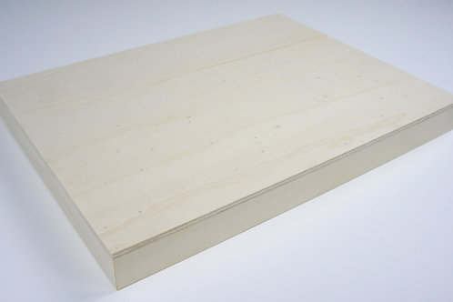38mm Wooden Panel: Length 20cm