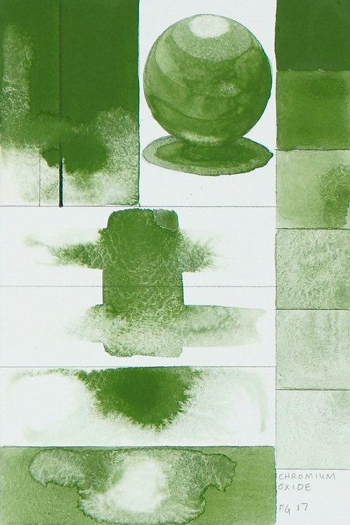 Golden QOR Watercolour - Chromium Oxide Green