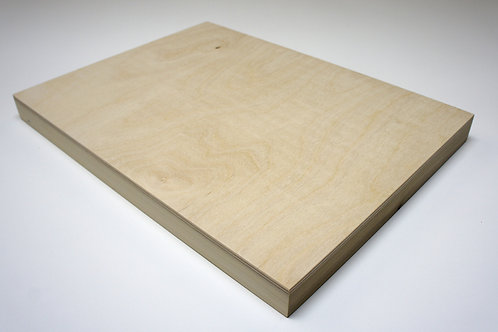32mm Birch Plywood Panel: Length 20cm