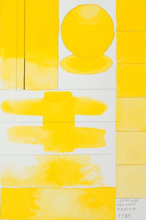 Golden QOR Watercolour - Cadmium Yellow Medium