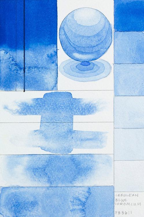 Golden QOR Watercolour - Cerulean Blue, Chromium
