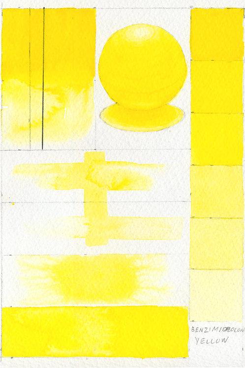 Golden QOR Watercolour - Benzimidazolone Yellow