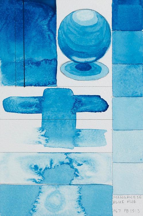 Golden QOR Watercolour - Manganese Blue