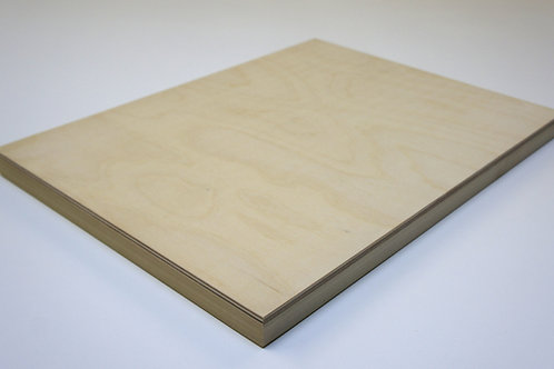 26mm Birch Plywood Panel: Length 20cm
