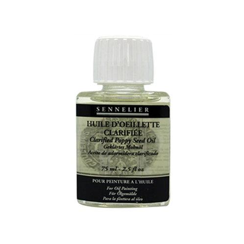 Sennelier Oils - Clarified Poppy Seed Oil