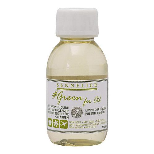 Sennelier Green for Oil - Brush Cleaner