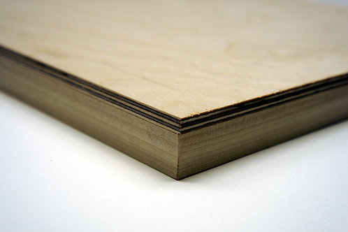 10% off 24mm Birch Plywood Panel: Length 30cm