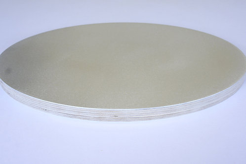 Pre-made 20mm Oval Aluminium Birch Panel - 75cm x 100cm