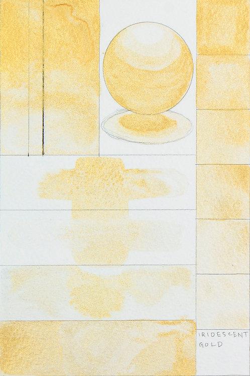 Golden QOR Watercolour - Iridescent Gold