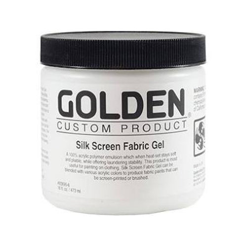 Golden Acrylics Silk Screen Fabric Gel