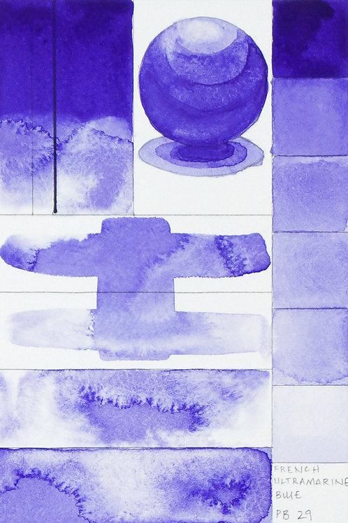 Golden QOR Watercolour - French Ultramarine Blue Violet