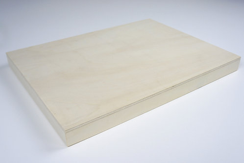 Wooden Panel: Length 20cm