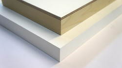 Gesso on Front and Sides