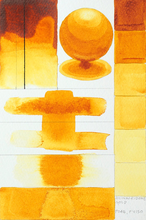 Golden QOR Watercolour - Quinacridone Gold