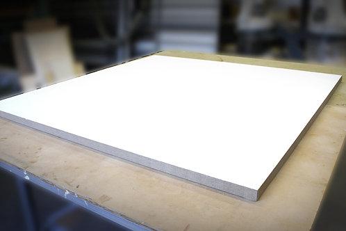 Pre-made 38mm Linen Wooden Panel - Gesso Primed - 150x150cm