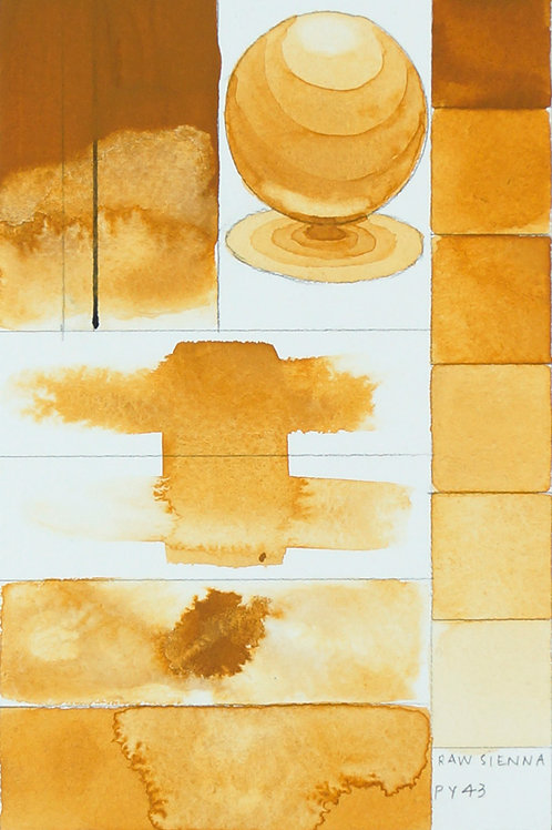 Golden QOR Watercolour - Raw Sienna