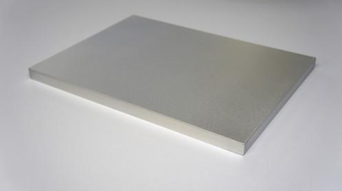 White Aluminium Panel : Lw mm aluminium panel length cm