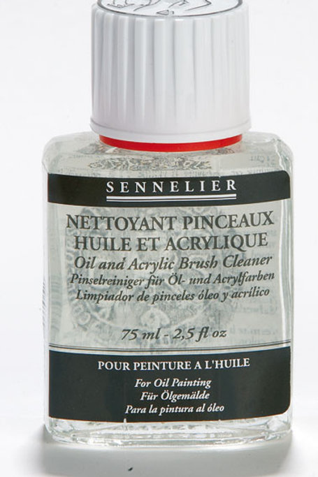 Sennelier Varnishes - Oil and Acrylic Brush Cleaner