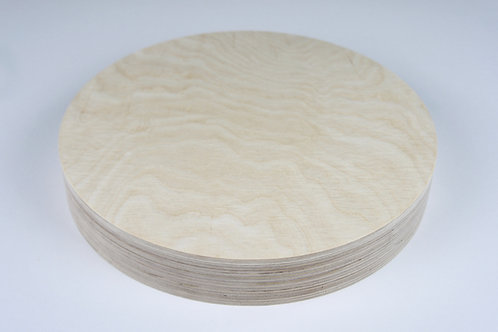46mm Circle Birch Plywood Panel