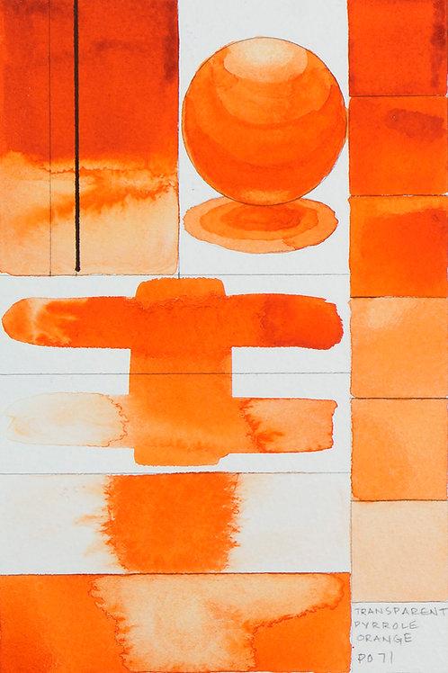 Golden QOR Watercolour - Transparent Pyrrole Orange