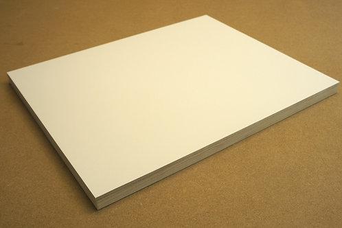24mm MDF Panel - 40x50cm - Gesso Primed