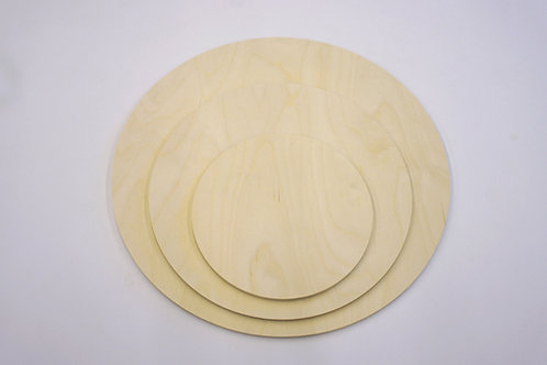 6mm Plein Air - Birch Plywood - Circles