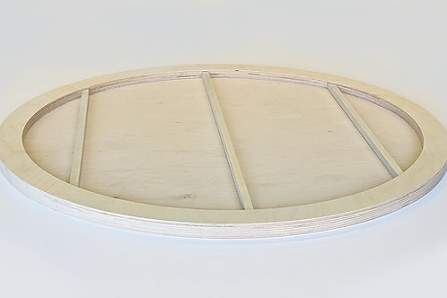 Special Offer - Circle Birch Plywood Panel - Including Aluminium Insert