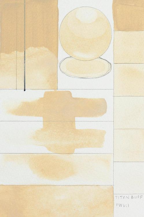 Golden QOR Watercolour - Titan Buff