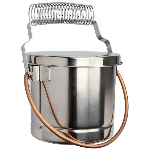 Large Fome Metal Brush Washer with Lid