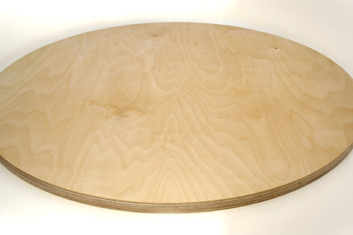 24mm Circle Birch Plywood Panel 50cmkkbkb
