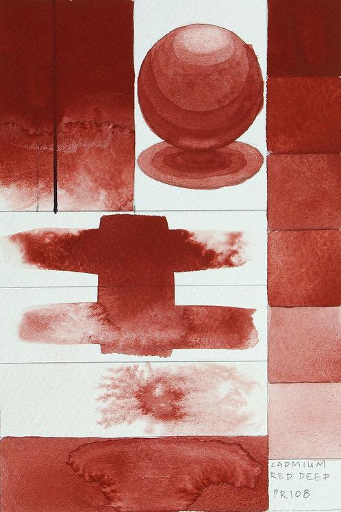 Golden QOR Watercolour - Cadmium Red Deep