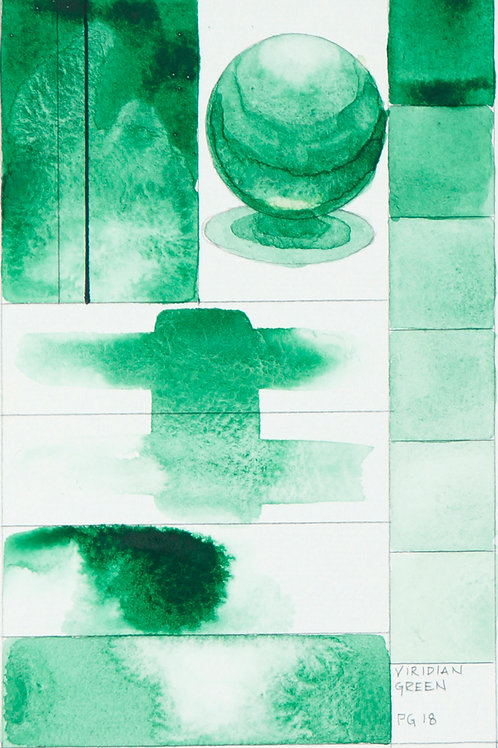 Golden QOR Watercolour - Viridian Green