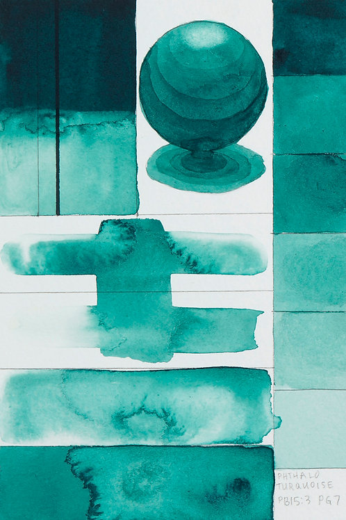 Golden QOR Watercolour - Phthalo Turquoise