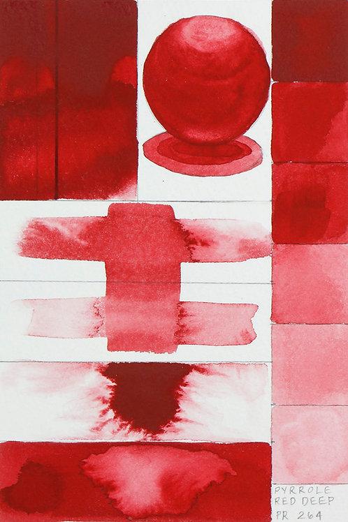 Golden QOR Watercolour - Pyrrole Red Deep