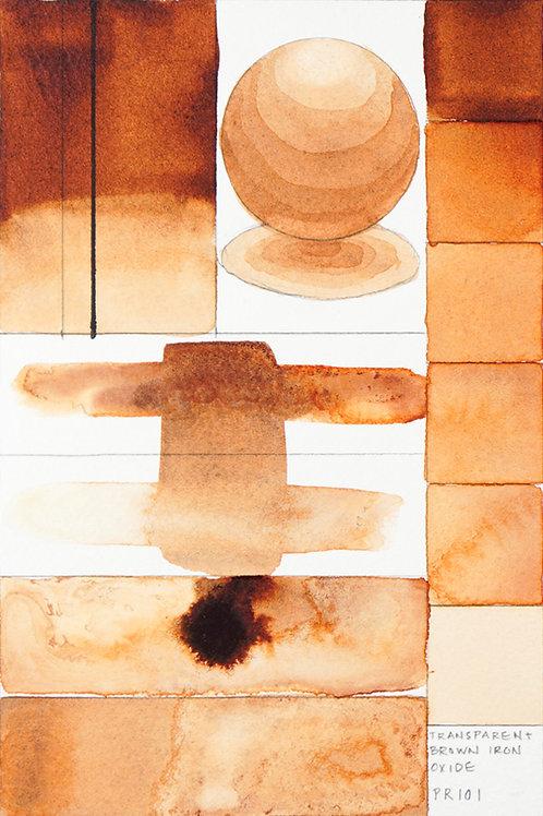 Golden QOR Watercolour - Transparent Brown Oxide