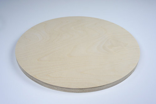 15mm Circle Birch Plywood Panel