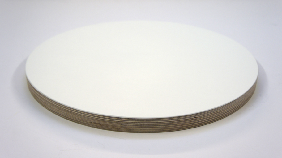 24mm Circle Birch Plywood Panel