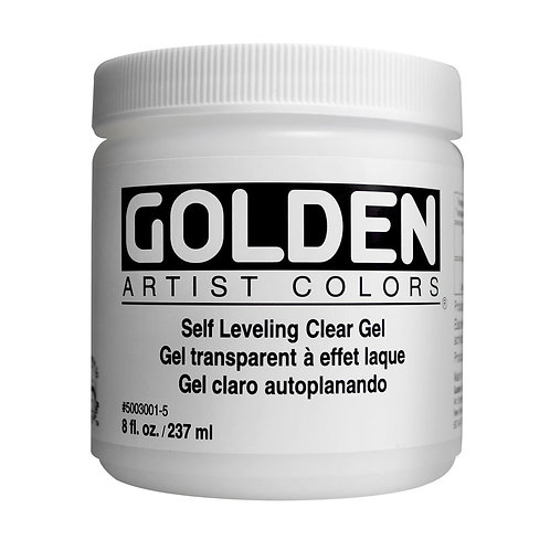 Golden Acrylics Self Leveling Clear Gel (3001)