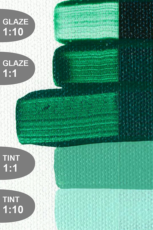 Golden Open Colour Acrylics - Series 1 - Viridian Green Hue