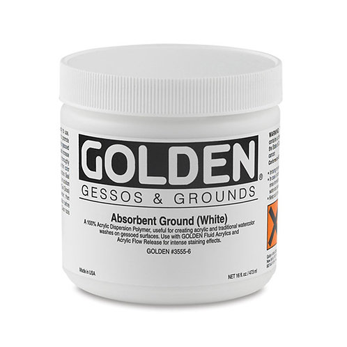 Golden Acrylic Absorbent Ground White