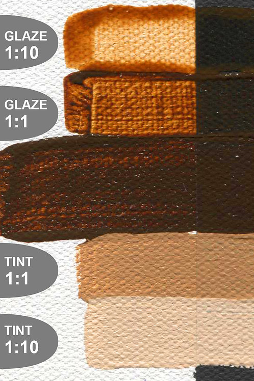 Golden Open Colour Acrylics - Series 3 - Transparent Brown Oxide