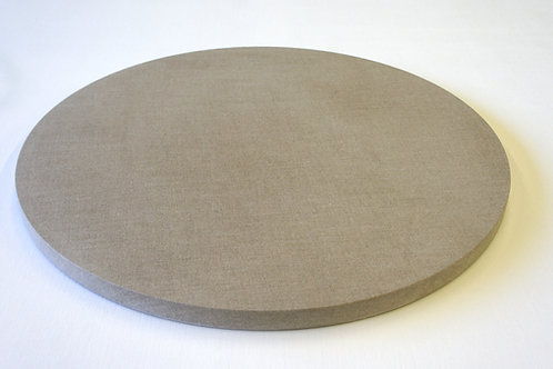 Pre-made - 38mm Circle Linen Panel - 110cm Diameter